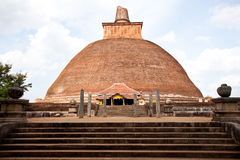 sri lanka jetavanaramaya anuradhapura Στοκ Εικόνες