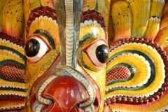 Sri Lanka, Kandy, maska Obraz Stock