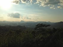 Dawn Mountain Vista Stock Photos