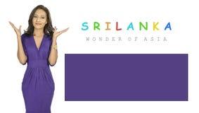 Sri Lanka Kunstwerk Stockfoto