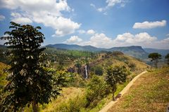 Sri Lanka landscapes Stock Photo