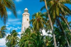 Sri Lanka, Lighthouse Dondra Head Royalty Free Stock Photography