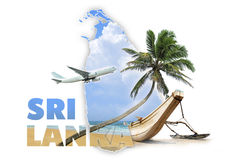 Sri Lanka loppbegrepp Arkivfoton