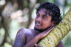 Sri Lanka man Royalty Free Stock Photo