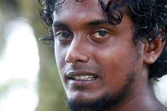 Sri Lanka man stock photo