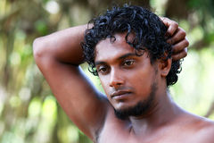 Sri Lanka the man Royalty Free Stock Photos