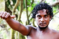 Sri Lanka the man Stock Image