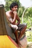 Sri Lanka mannen Royaltyfri Foto