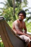 Sri Lanka mannen Fotografering för Bildbyråer