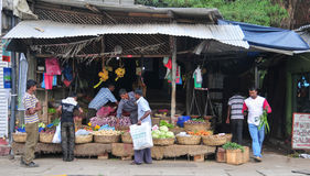 Sri Lanka market vendor Stock Photography