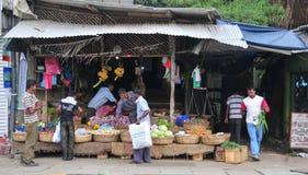 Sri Lanka market vendor Stock Photography