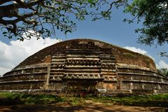 Sri Lanka, Mihintale Buddhist pilgrimage site Royalty Free Stock Image