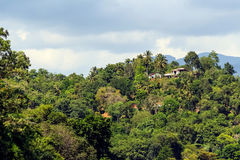 Sri Lanka mountain landscape Royalty Free Stock Photos
