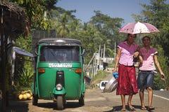 Sri Lanka: Mulheres cingalesas Imagens de Stock Royalty Free