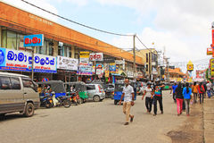 Sri Lanka Negombo Cityscape royalty free stock photos
