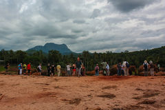 Sri Lanka, novembre 2011. Éléphant Orphanag de Pinnawala. Photo libre de droits