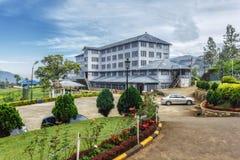 Sri Lanka Nuwara Eliya De fabriek van de Mackwoods labookellie thee en t Royalty-vrije Stock Foto