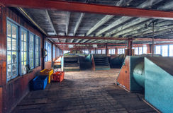Sri Lanka Nuwara Eliya Tefabrik inomhus around-2 Royaltyfria Bilder