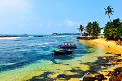 Sri Lanka. Ocean coast of Sri Lanka in the tropics