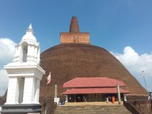 Historic Temple in sri lanka royalty free stock photography
