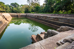 Sri Lanka is the pair of pools known as Kuttam Pokuna. One of the best specimen of bathing tanks or pools in ancient Sri Lanka is the pair of pools known as royalty free stock images