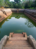 Sri Lanka is the pair of pools known as Kuttam Pokuna. One of the best specimen of bathing tanks or pools in ancient Sri Lanka is the pair of pools known as royalty free stock image