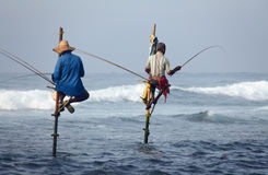 Sri Lanka, południowe wybrzeże - Styczeń 05; 2011: tradycyjny sri lanka Fotografia Royalty Free