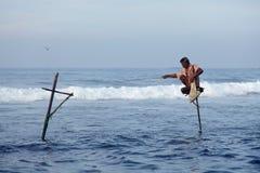 Sri Lanka, południowe wybrzeże - Styczeń 05; 2011: tradycyjny sri lanka Obrazy Stock