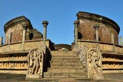 Sri Lanka, Polonnaruwa Foto de archivo libre de regalías