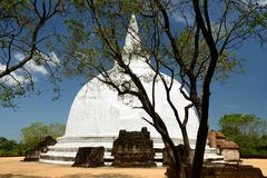 Sri Lanka, Polonnaruwa ancient ruin Stock Image