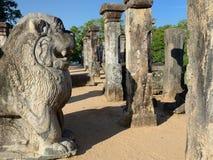 Sri Lanka, Polonnaruwa ruin, Nissanka Mallas Palace Royalty Free Stock Images