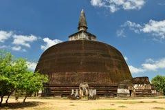 Sri Lanka, Polonnaruwa ancient ruin Stock Photography