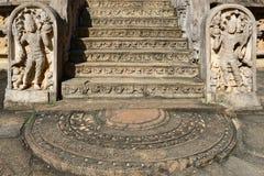 Sri Lanka, Polonnaruwa ancient ruins Royalty Free Stock Image