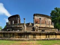 Sri Lanka, Polonnaruwa ancient ruins Royalty Free Stock Photo