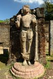 Sri Lanka, Polonnaruwa ruin, Atadage ruins Royalty Free Stock Photo