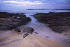 Sri Lanka: Praia em Hambantota Fotografia de Stock Royalty Free