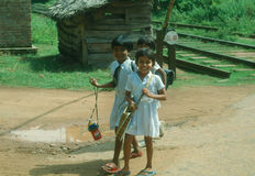 Sri Lanka pupils Stock Images