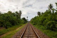 Sri Lanka Railroad Stock Image