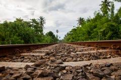 Sri Lanka Railroad Royalty Free Stock Photos