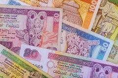 Sri Lanka-Roepiegeld van diverse benamingen royalty-vrije stock fotografie