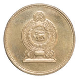Sri Lanka rupee coin Stock Images