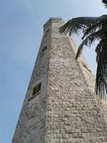 Sri lanka`s beautyful lighthouse in the matale. This is a sri lanka beautyfull one place,thatsriverl...in the heel oya Stock Photography