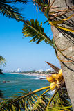 Sri Lanka's capital coastal city of Columbo Royalty Free Stock Photography