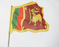 Sri Lanka's flag Stock Image
