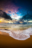 Sri Lanka-Sonnenuntergang Stockfotos