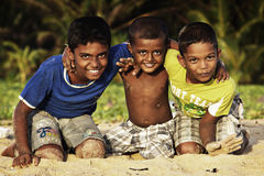 Sri Lanka: Sri Lankan kids Stock Photo