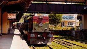 Sri Lanka stary pociąg Fotografia Royalty Free