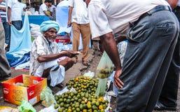 Sri Lanka-Straßenmarkt Stockbild