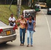 Sri Lanka, streetlife Royalty Free Stock Photos