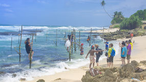 Sri Lanka Tourismus Stockfotografie